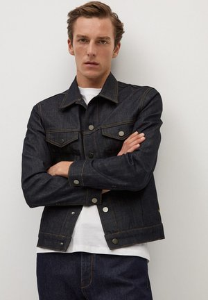 ADRIEN - Denim jacket - open blå