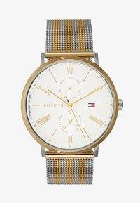Tommy Hilfiger - JENNA - Orologio - silver-coloured/gold-coloured - 1