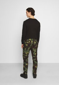 G-Star - ROXIC STRAIGHT TAPERED PANT - Cargo trousers - olive/brown - 2