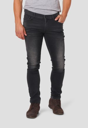 RICCO  - Jeans Skinny Fit - dark bleach wash