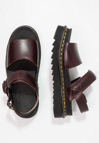 Dr. Martens - VOSS - Platform sandals - charro brando - 3