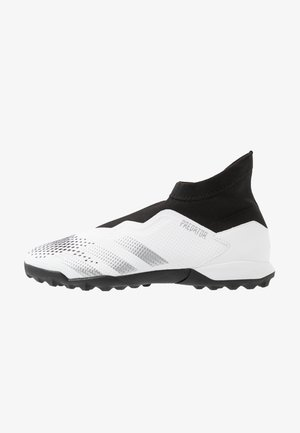 PREDATOR 20.3 FOOTBALL BOOTS TURF - Astro turf trainers - footwear white/silver metallic/core black