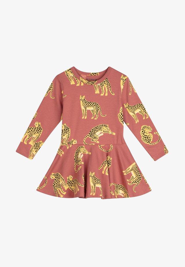 NOELLE - Korte jurk - maroon