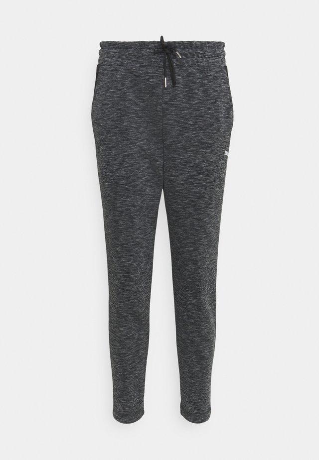 EVOSTRIPE PANTS - Pantaloni sportivi - black heather