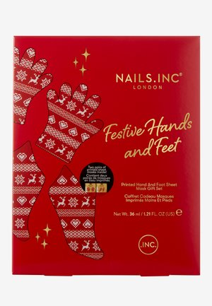 FESTIVE HANDS AND FEET MASK DUO - Bad- & bodyset - -