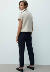 Massimo Dutti - Trousers - dark blue - 1