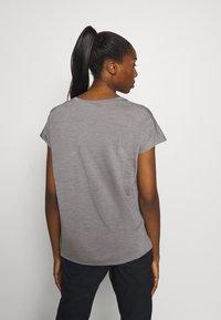 Houdini - ACTIVIST TEE - Basic T-shirt - soft grey - 2