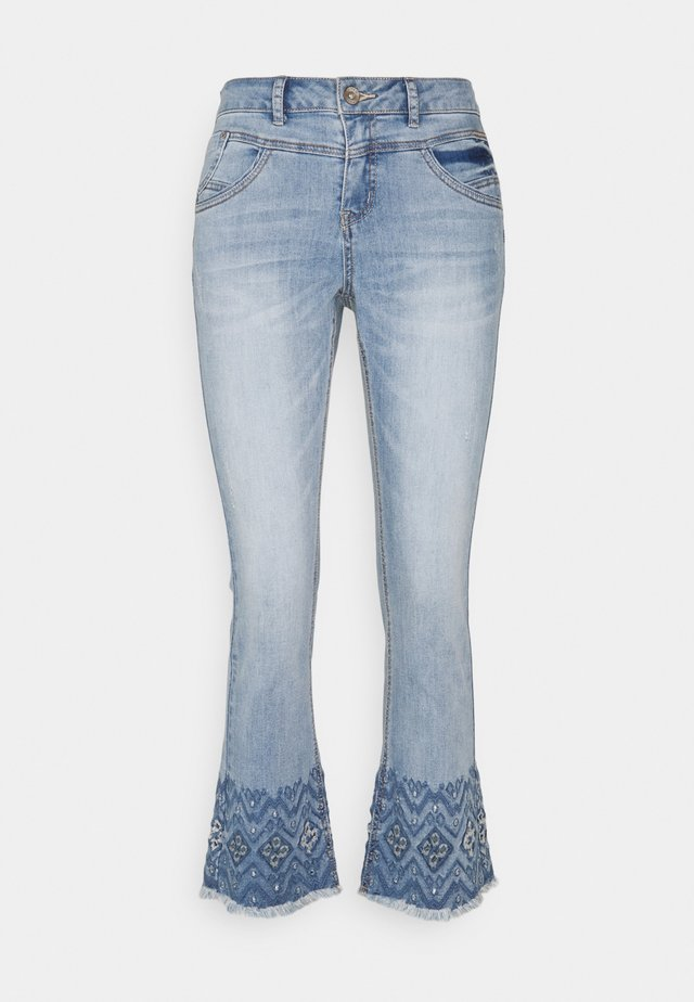 Bootcut jeans - soft blue denim