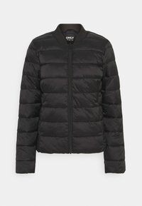 ONLY - ONLSANDIE QUILTED JACKET - Light jacket - black - 3