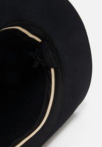 rag & bone - FLOPPY BRIM FEDORA - Hat - black - 3