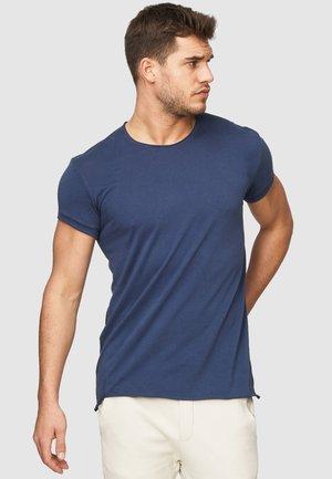 HUGON - Basic T-shirt - new navy