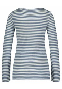 Marc O'Polo - AUS ORGANIC QUALITÄT - Long sleeved top - bleu - 1