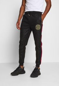 Glorious Gangsta - ALANIS JOGGERS - Tracksuit bottoms - black - 0