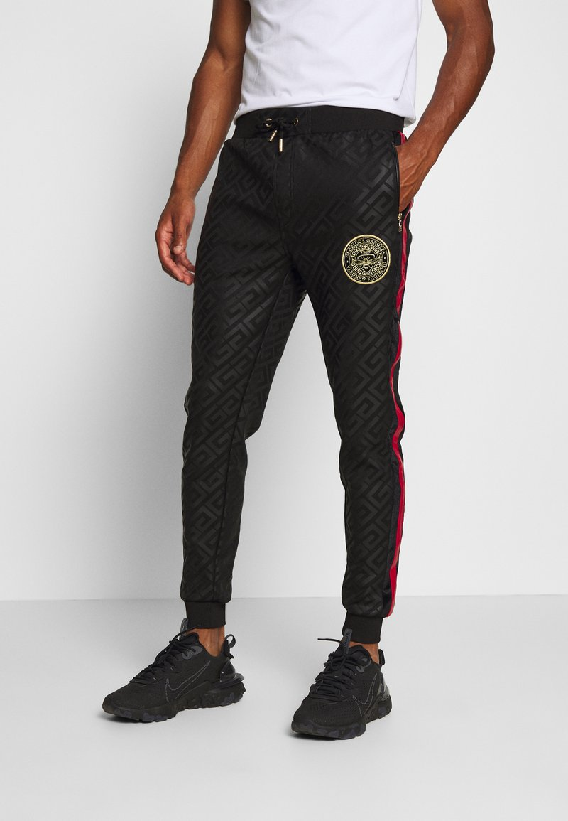 Glorious Gangsta - ALANIS JOGGERS - Tracksuit bottoms - black