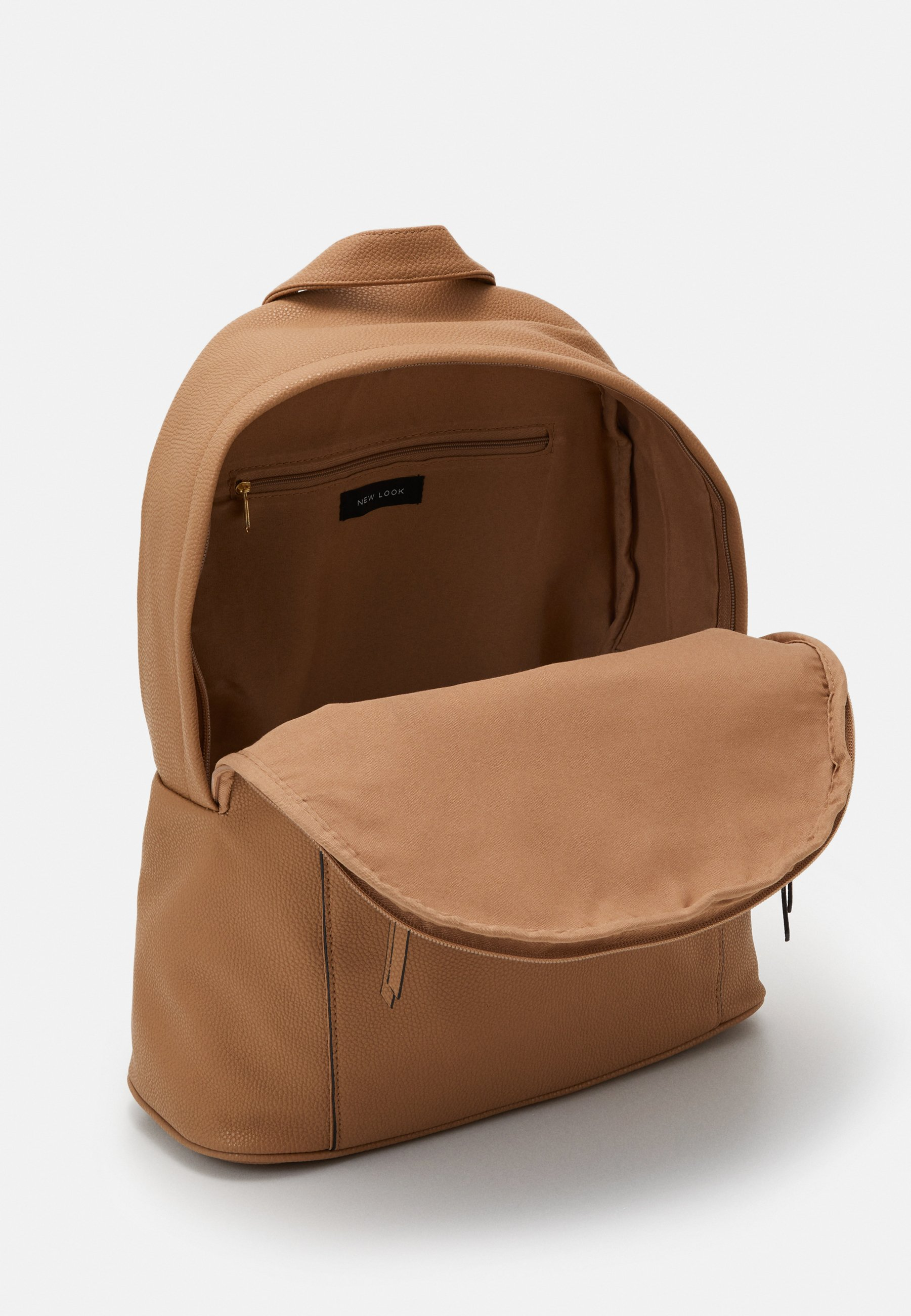 New Look Clive Zip Around Backpack - Tagesrucksack Camel