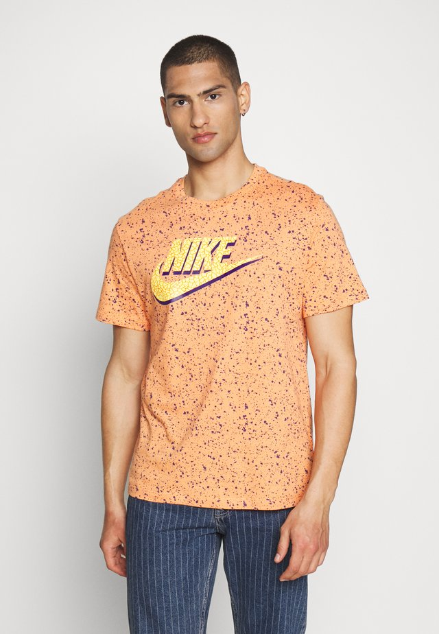 PRINT PACK - T-shirt imprimé - orange trance