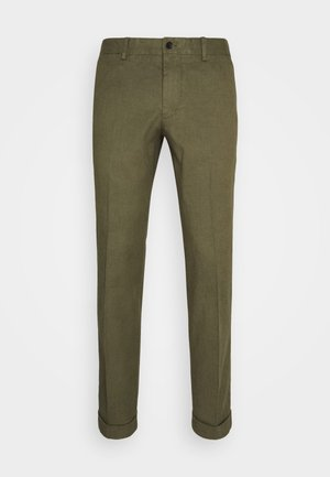 GRANT STRETCH PANTS - Chino kalhoty - lake green