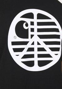 Carhartt WIP - PEACE STATE  - Print T-shirt - black / white - 4