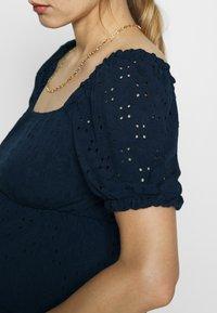 MAMALICIOUS - SHORT DRESS - Sukienka z dżerseju - navy blazer - 5
