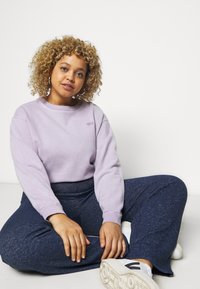 Evans - SOFT TOUCH PANT - Trousers - navy - 3
