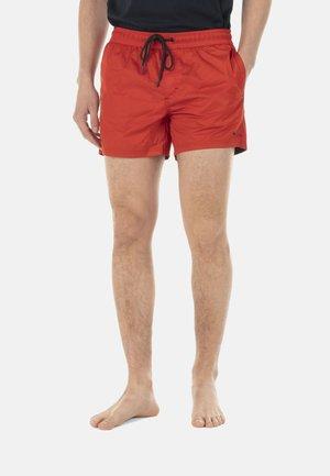 Swimming shorts - rosso screziato