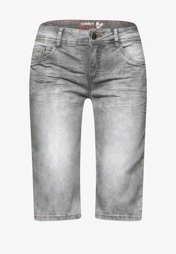 Denim shorts - grau
