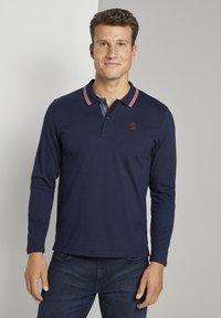 TOM TAILOR - Polo shirt - sky captain navy - 1