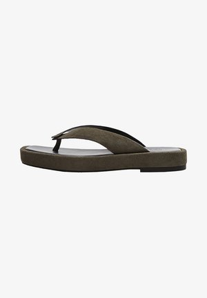 T-bar sandals - evergreen