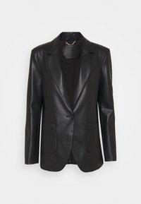 Patrizia Pepe - JACKETS - Faux leather jacket - nero - 3