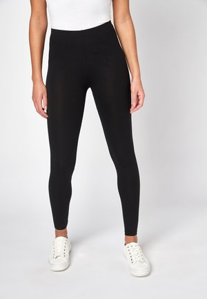 FULL LENGTH LEGGINGS - Leggings - Trousers - black