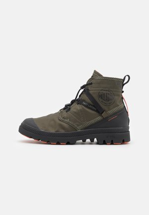 PAMPA TRAVEL LITE+WP UNISEX - Lace-up ankle boots - olive night
