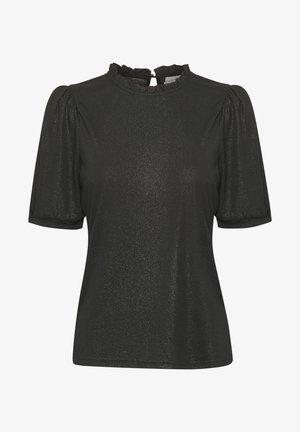 NAVIECR  - T-shirt med print - pitch black