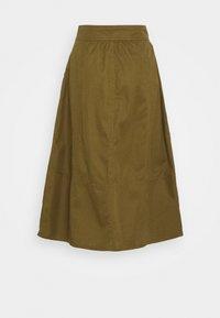 GAP - HIGH RISE SKIRT - A-line skirt - amber green - 1