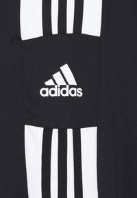 adidas Performance - SQUAD - Tracksuit bottoms - black/white - 6