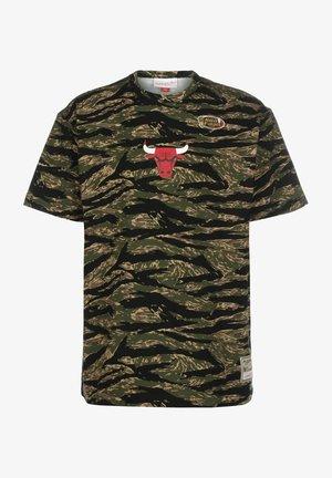 TIGER CHICAGO BULLS - T-shirt imprimé - camo