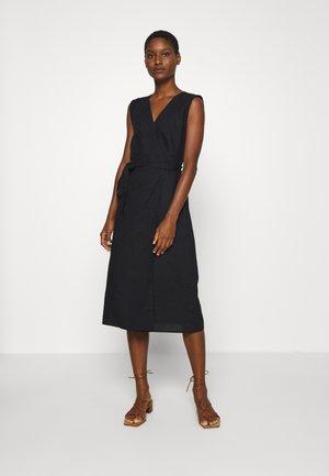 WRAP - Denní šaty - black