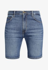 Lee - RIDER - Shorts di jeans - blue - 5