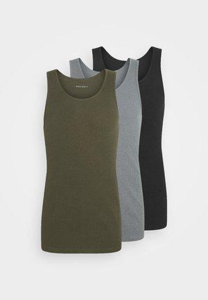 3 PACK - Topper - khaki/black