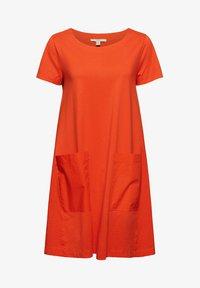 Esprit - DRESS - Jersey dress - orange red - 5