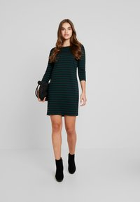 Vila - VITINNY - Day dress - black/pine grove - 1