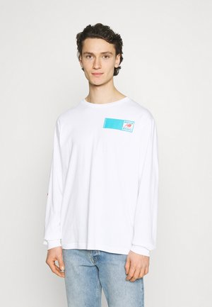 ESSENTIALS FIELD DAY TEE - Long sleeved top - white