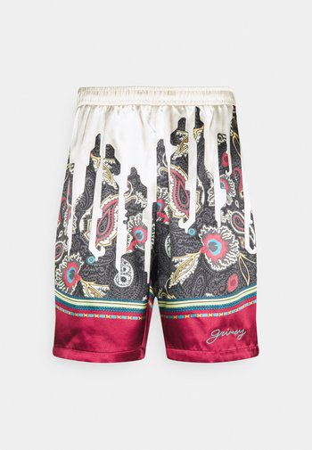 HOPE UNSEEN ALL OVER PRINT UNISEX - Shorts - white