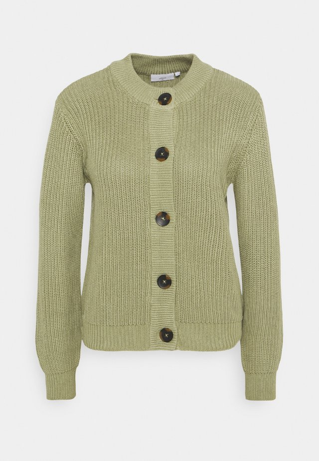 AFFIE  - Strikjakke /Cardigans - oil green