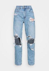 American Eagle - MOM PRIDE - Straight leg jeans - sapphire mist - 4