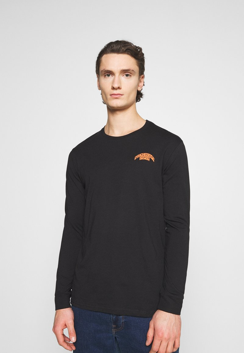 YOURTURN - UNISEX - Long sleeved top - black
