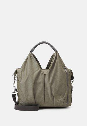 NECKLINE BAG SPIN DYE  - Torba do przewijania - gold-coloured