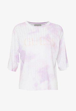 PASTEL TEE - Printtipaita - allover tie dye pink