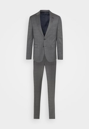 FLEX CHECK SLIM FIT SUIT SET - Jakkesæt - grey/white
