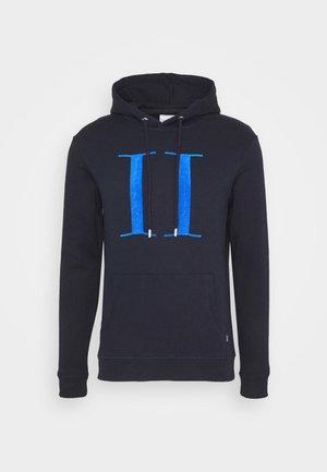 ENCORE HOODIE - Mikina skapucí - dark navy/parisian blue