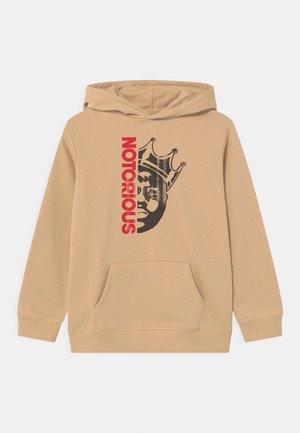 LICENSE HOODIE - Sweatshirt - semolina